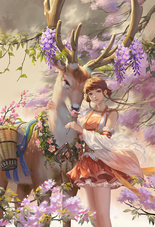 银色骐骥:朵一与鹿