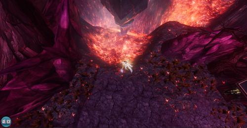 图片: 图3:干裂的土地,散发灼炎之气的赤红浆谷.jpg